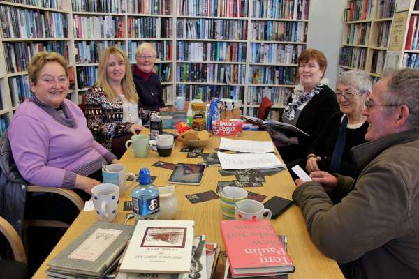 "A wide variety of wonderful poems by such Poets as Bernard O'Donoghue, Karen O'Connor and the late Marie Ryan were share at Millstreet Library on Thursday, 29th April 2016 in ""Poetry Revolution""."