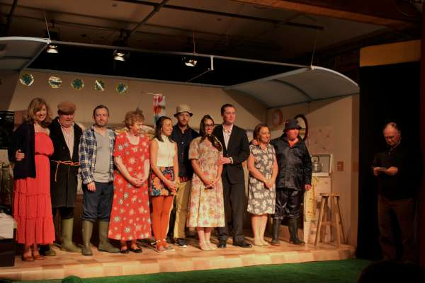 """Audience reaction to the Glen Theatre's production of """"Separate Beds"""" has been hugely enthusiastic. It's a brilliant comedy beautifully acted by a very talented and dedicated Cast. It continues this Sunday night (Census Night!) at Banteer's Glen Theatre at 8.30. Click on the images to enlarge. (S.R.)"""
