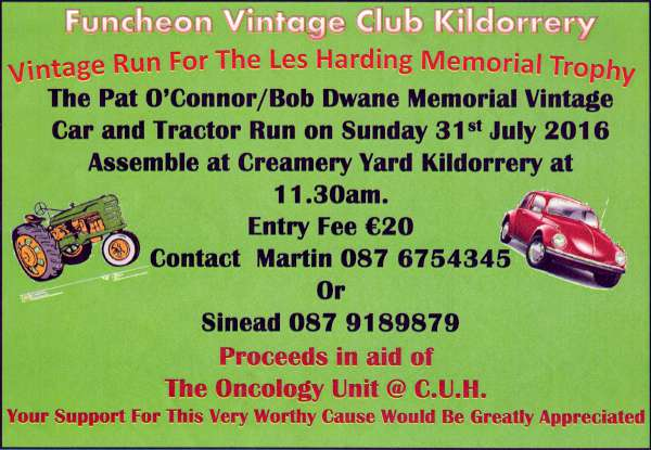 One of the many events promoting the Margaret Murphy Memorial Fund for CUH. Click on the poster to enlarge. (S.R.)