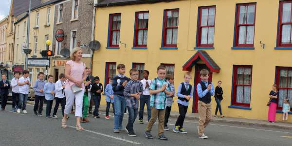 1Corpus Christi Procession in Millstreet Sunday 29 May 2016