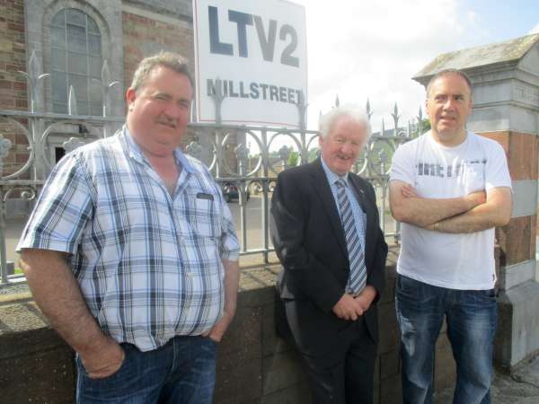 We wish to express sincere thanks to the many generous people who very kindly supported our annual LTV2 Millstreet church gate collection in Millstreet, Ballydaly and Cullen. The €2,100 (approx. - final figure to be confirmed later) contributed will help to fund batteries for cameras, purchase of discs, video recording tapes for cameras and the placement of our regular programmes on the Millstreet website making transmissions available worldwide. Click on the images to enlarge. (S.R.)