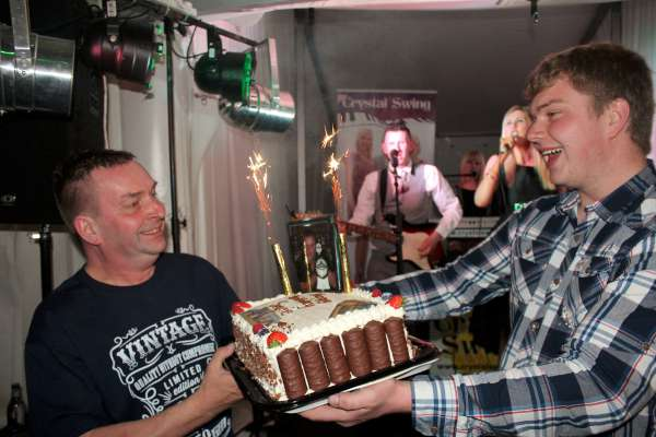 What a spectacular 50th Birthday Celebration for Seán Murphy (on left) on Saturday night in Carriganima. Listen in at 9.45pm when we include a brief flavour of the mighty occasion. It was also such a memorable night for Seán's family and friends.