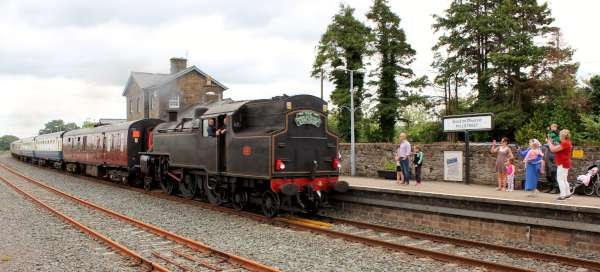 17Emerald Isle Explorer Steam Train in Millstreet 2016 -600