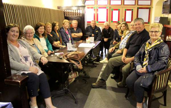 Millstreet Community Council meeting at the Wallis Arms Hotel on Thursday, 23rd June 2016 discussing preparations for the truly prestigious world equestrian event in Millstreet with the opening parade with some 150 ponies taking place on Tuesday evening 12th July through the town. Click on the images to enlarge. (S.R.)