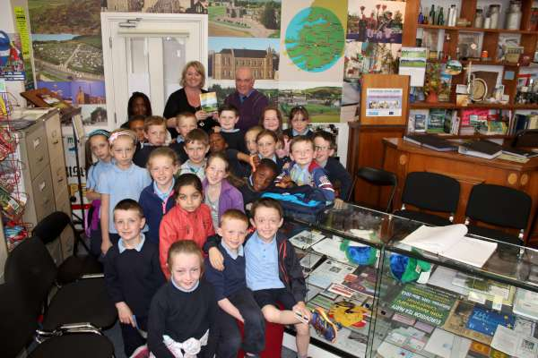First Class from Presentation N.S. visits Millstreet Museum.