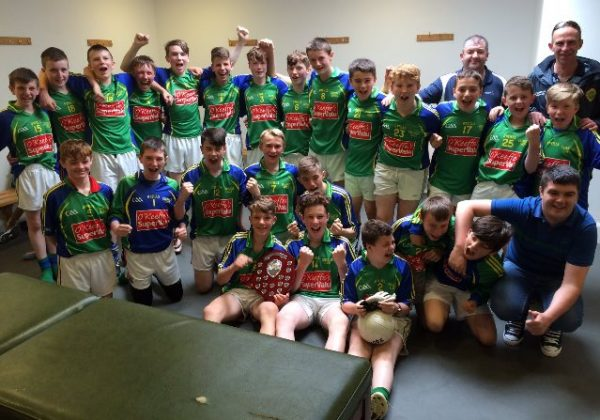 2016-06-26 Duarigle Gaels - Féile Shield Winners