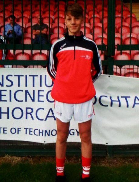 2016-06-29 Darragh Cashman - selected for both Cork U14 Footballers and Hurlers-800