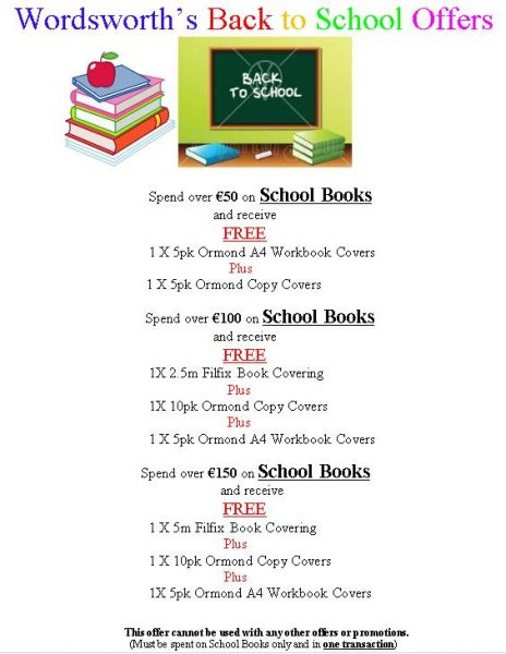 2016-06-30 Wordsworth - back to school offers