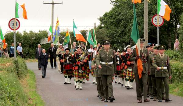 Bernard Moynihan Commemoration in Rathcoole.