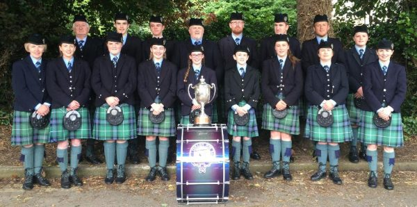 2016-06-26 Cullen Pipe Band win East of Ireland Championships held in Howth