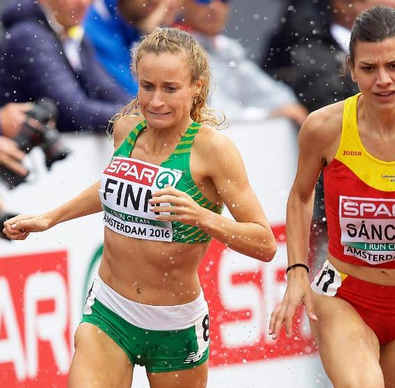 2016-07-08 Michelle Finn running in the European Athletics Championships