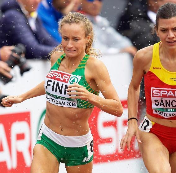 2016-07-08 Michelle Finn running in the European Athletics Championships