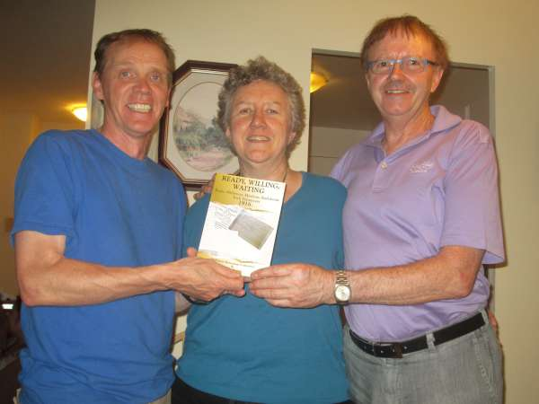 "Presenting Noreen Meaney's hugely popular book ""Ready, Willing, Waiting..."" - from left Michael Meade (formerly of Banteer)"