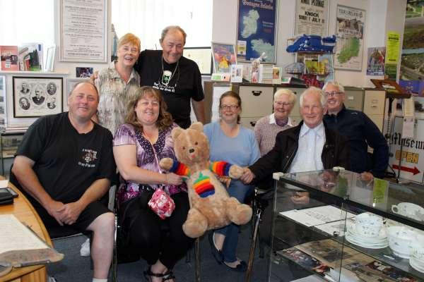 Recent American and Irish Visitors to Millstreet Museum.