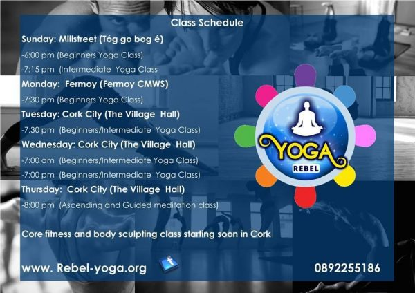 Rebel Yoga at Tóg go Bog é