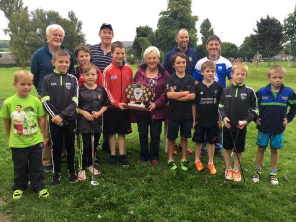 group photo of Alan O'Connor Memorial Trophy