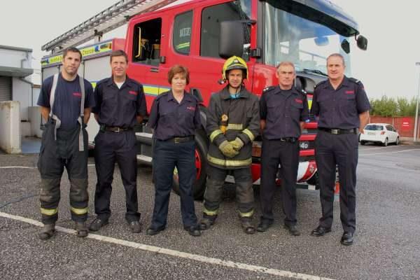 16Cork Firefighters Ladder Climb in Millstreet 2016 -600