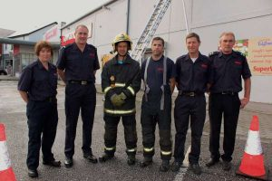 17Cork Firefighters Ladder Climb in Millstreet 2016 -600