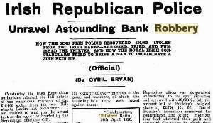 1920-08-07 - Irish Republican Police Unravel Astounding Bank Robbery - Western Australia Record_rsz