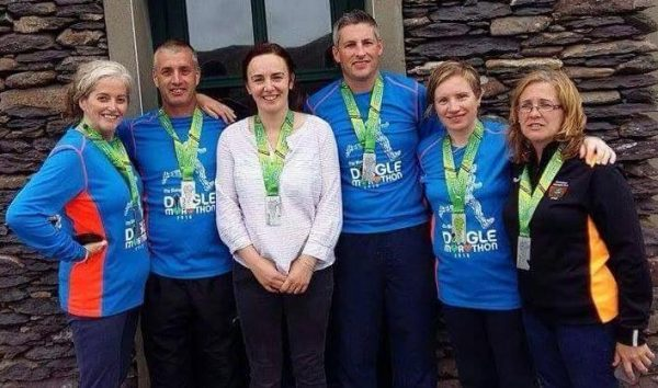 2016-10-03 Locals who ran the Dingle Marathon 02
