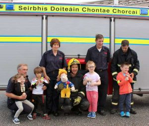 25Cork Firefighters Ladder Climb in Millstreet 2016 -600