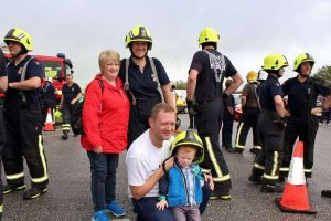 2Cork Firefighters Ladder Climb in Millstreet 2016 -600