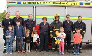 30Cork Firefighters Ladder Climb in Millstreet 2016 -600