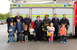 32Cork Firefighters Ladder Climb in Millstreet 2016 -600