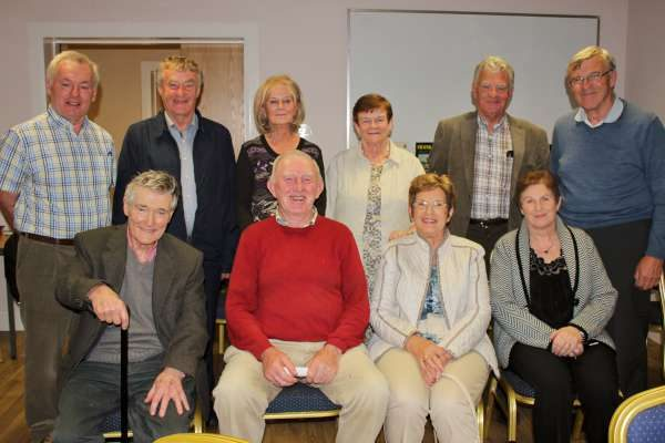 "It was Joe Kennelly (standing 5th from left) who wonderfully presented the first excellent programme at Boherbue's ""Music Room"" on Thursday, 1st Sept. 2016. A capacity audience attended and Tim Murphy extended the official thanks to Joe while Eithne O'Keeffe coordinated the audio discs. Millstreet Gramophone Circle's next presentation is by Con Kelleher of Cloghoulabeg, Millstreet and it takes place on Friday, 30th Sept. at 8.15pm in Millstreet GAA Community Hall. Click on the images to enlarge. (S.R.)"