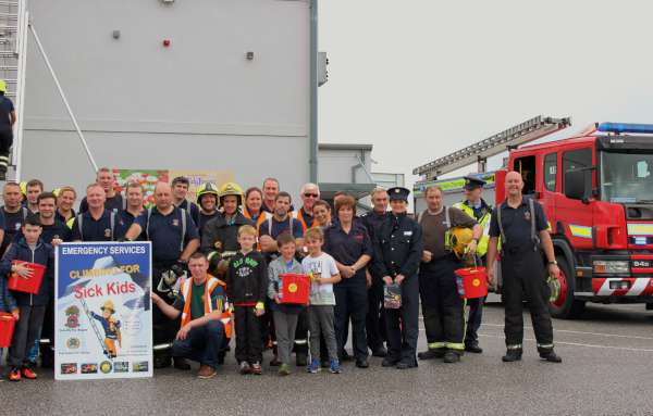 6Cork Firefighters Ladder Climb in Millstreet 2016 -600
