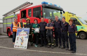 7Cork Firefighters Ladder Climb in Millstreet 2016 -600