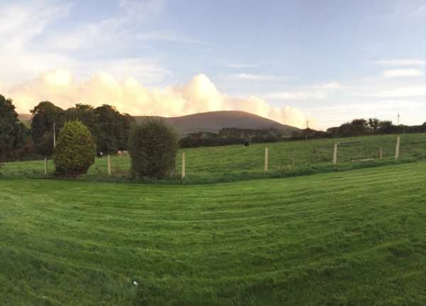 Mushera Mountain as the clouds roll by. The staff at Millstreet Country Park wish Jerry Pat O' Leary well in the finals of the Blas na hEireann awards in Dingle next weekend. One of his entries is the ' Mushera Venison Burger'
