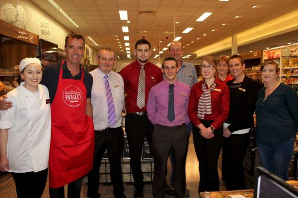 Celebrity Xhef Kevin Dundon gives superb presentation at new look Supervalu in Minor Row. Click on the images to enlarge. (S.R.)