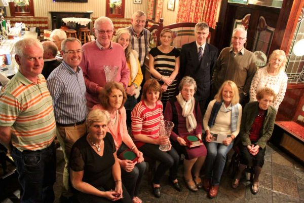 "The annual Local Awards from Millstreet Tidy Towns Association were presented at the ""Clara Inn"" on Wednesday night. Click on the images to enlarge. (S.R.)"