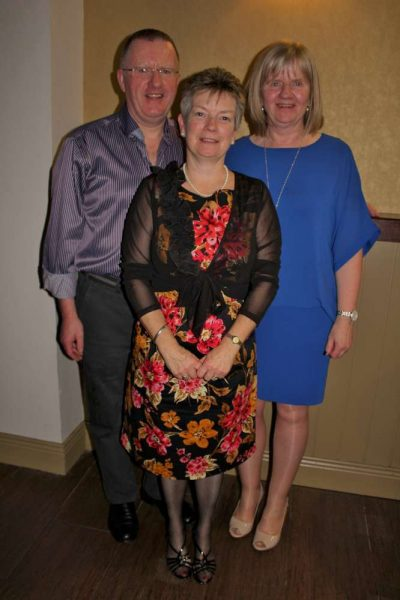 Three of the dedicated Coordinators - John O'Sullivan, Eileen Creedon-O'Sullivan and Maura Twomey-Roche.