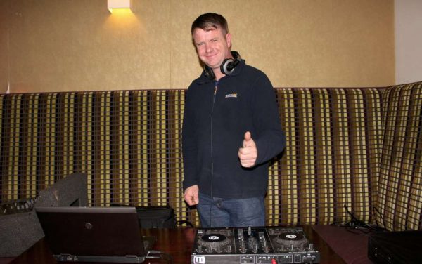 DJ supreme - Denny CEE of Macroom - played superb musical selections from the 1970s and more.