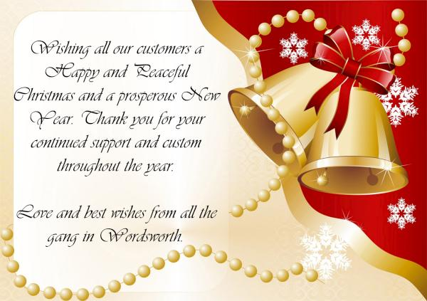 2016-12-20 Wordsworth Christmas Wishes
