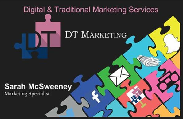 DTMarketing - business card