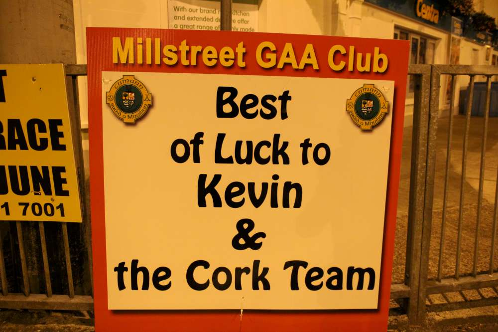Wishing Kevin Every Good Luck in Killarney