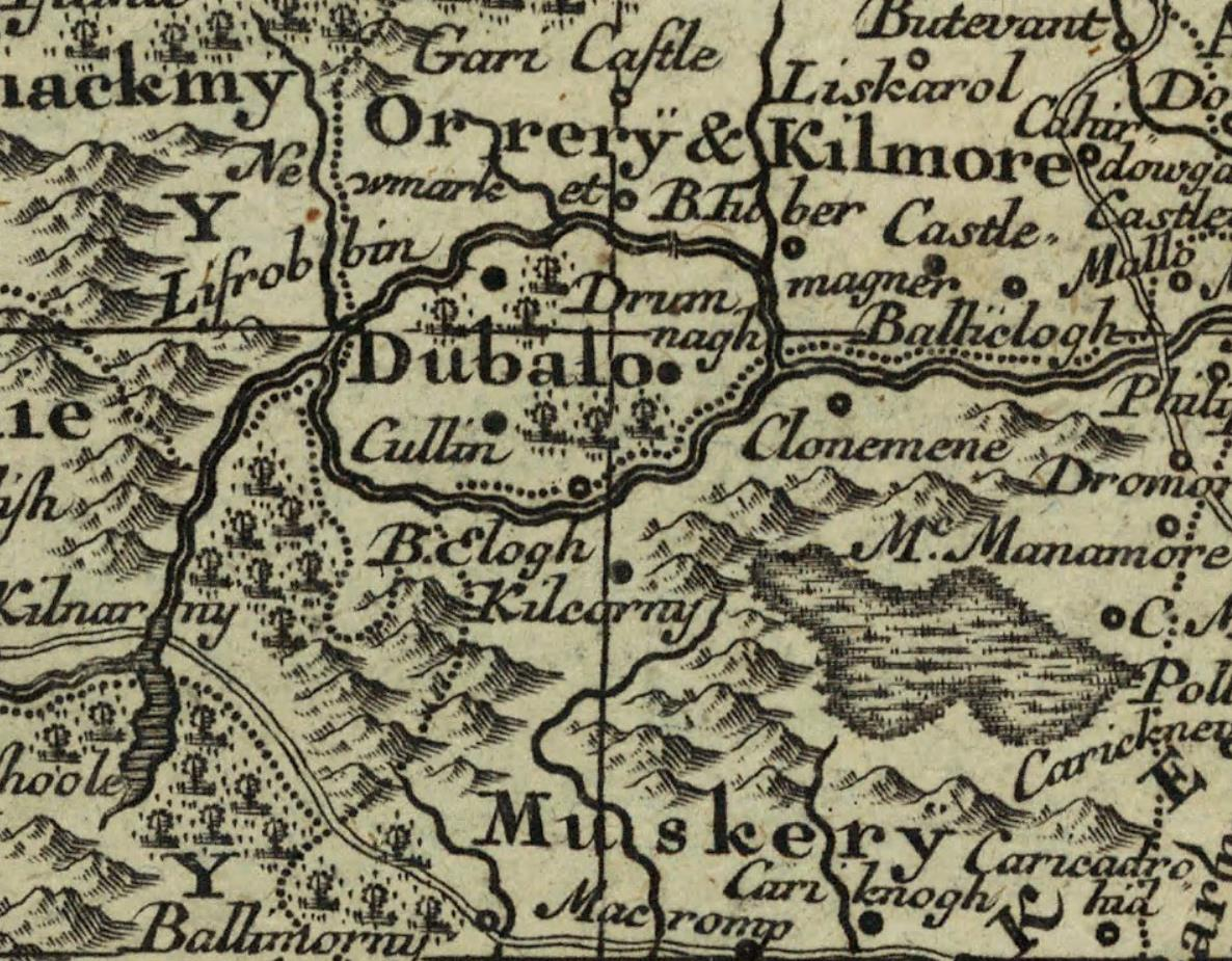 This map may be from 1755 not