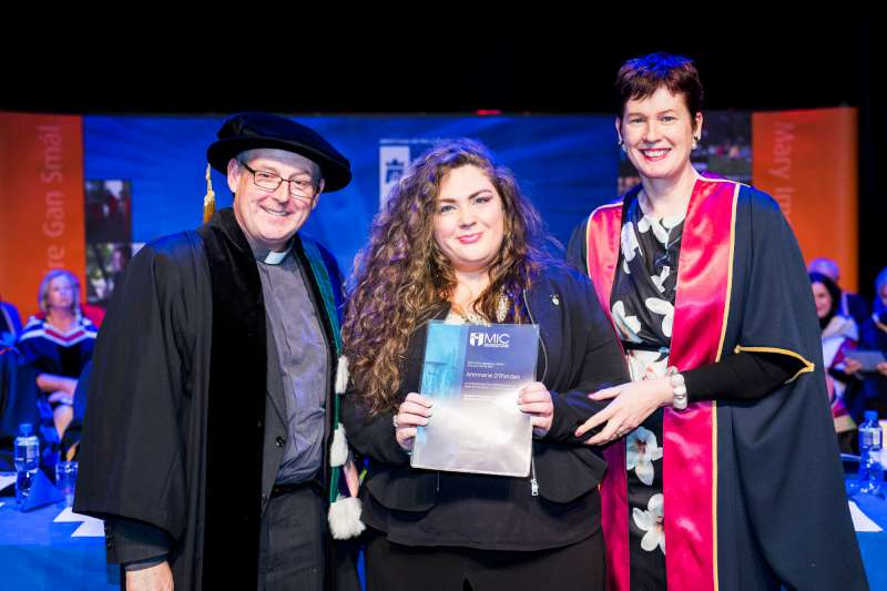 Mary immaculate college millstreet the prestigious award was presented to annmarie by professor eamonn conway head of theology department mary immaculate college and dr patricia kieran malvernweather Gallery