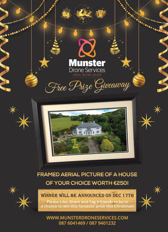 Munster Drone Services – Free Prize Giveaway – Millstreet ie