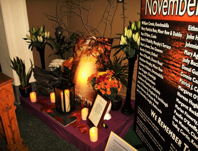 Mass of Remembrance – Millstreet ie